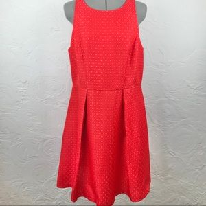 NWT The Limited Red Sleeveless Pattern Dress-14